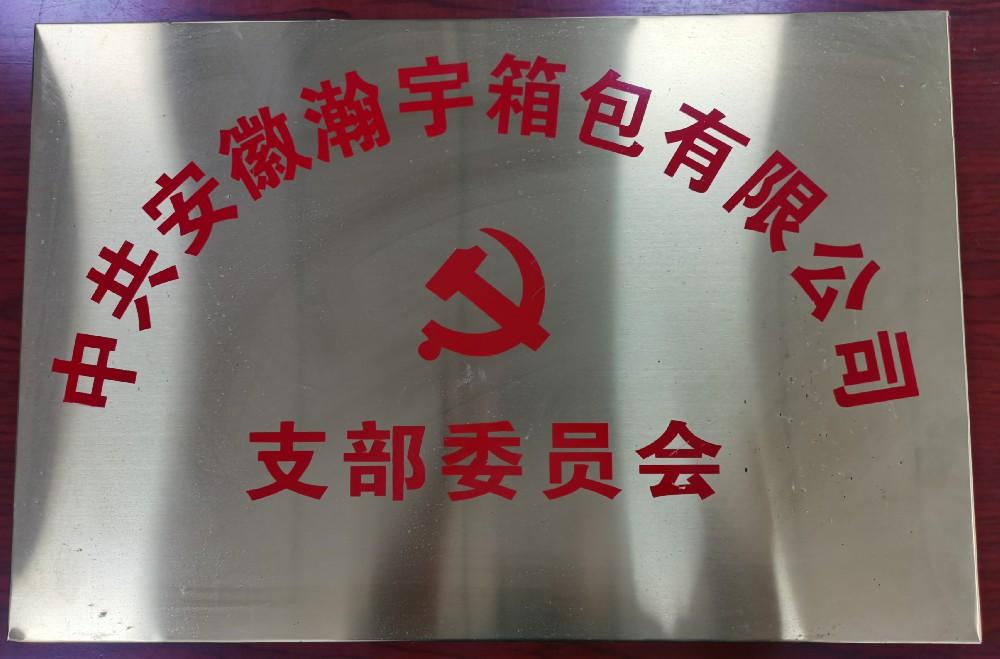 中共安徽瀚宇党支部(图1)